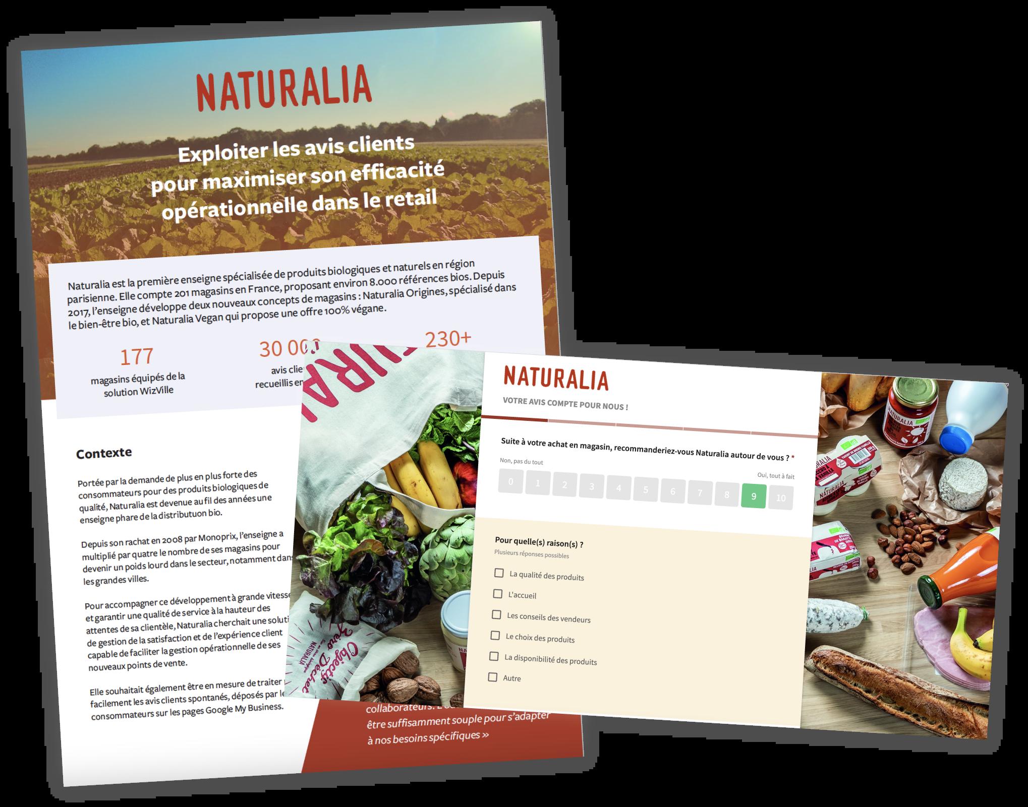 Cas client Naturalia WizVille